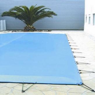 bache piscine 12×6