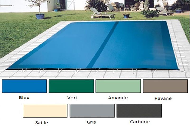 bache piscine 12x6