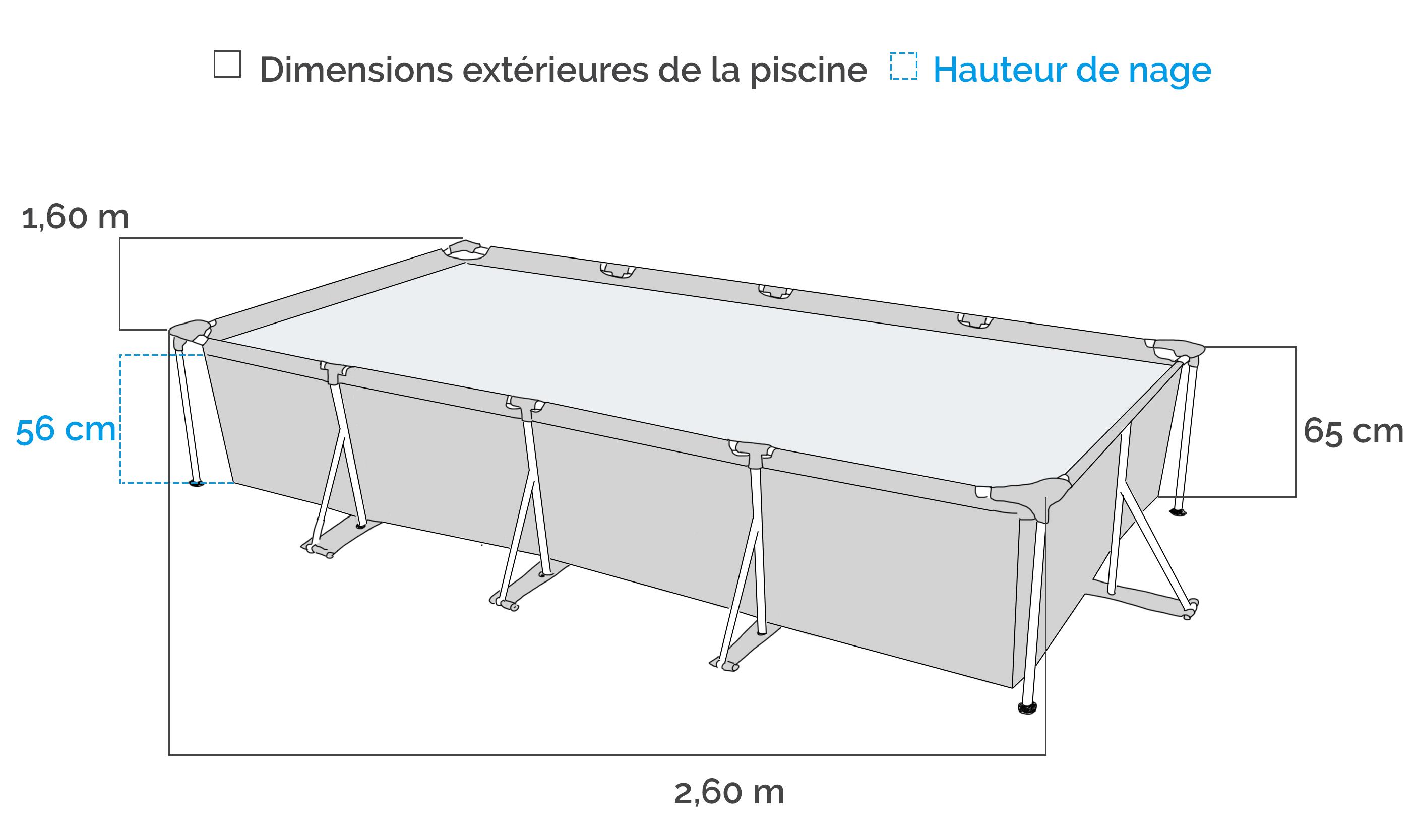 bache piscine 2 60x1 60
