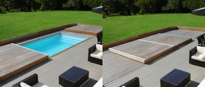 bache piscine 3x3