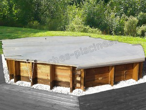 Bache piscine 4 saisons hors sol - Bache d hiver pour piscine hors sol ...