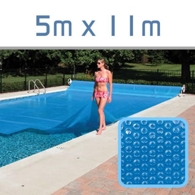 bache piscine 5×11