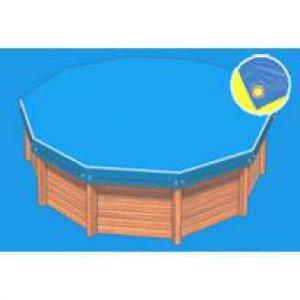 bache piscine 6 pans