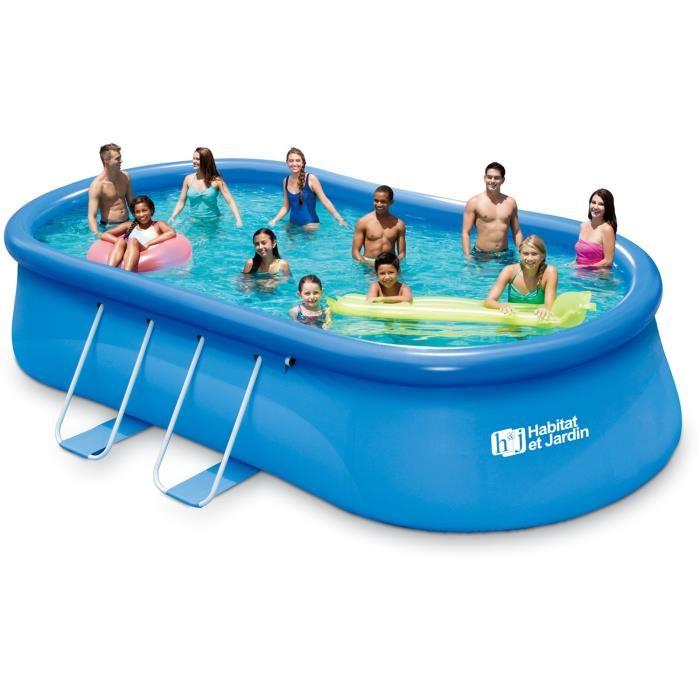 bache piscine 6.10x3.66