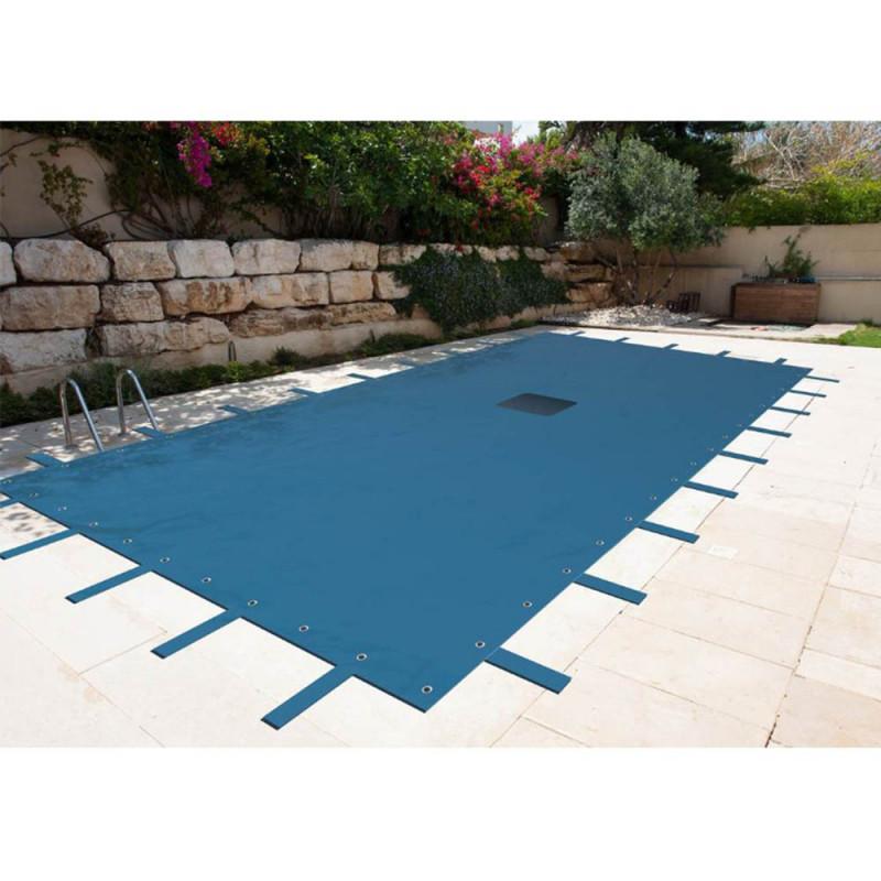 bache piscine 8×5