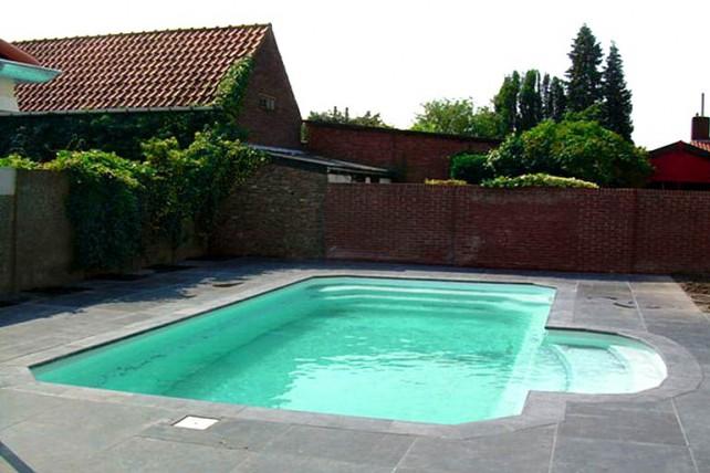 bache piscine 8x5