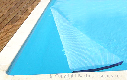 bache piscine bulle 500 cristal geobulle