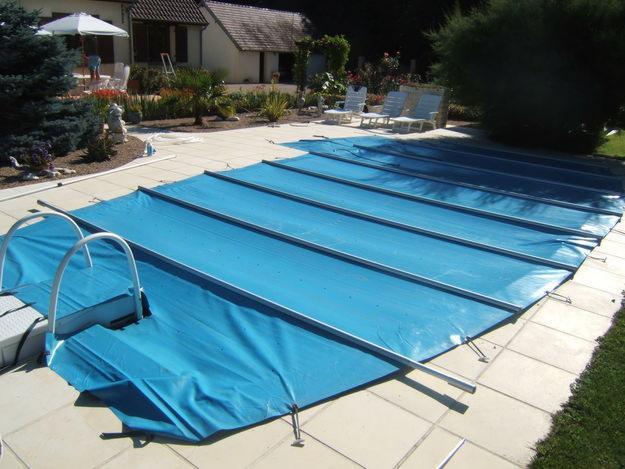 bache piscine decathlon