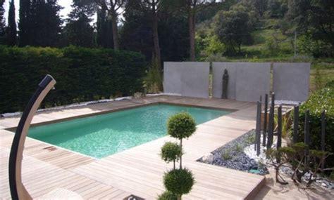 bache piscine design