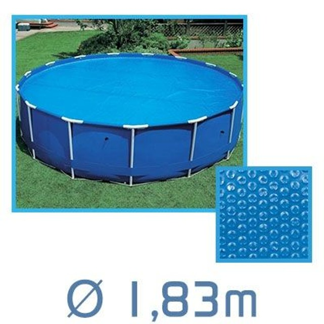 bache piscine diametre 1.83