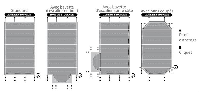 bache piscine easy first evolution