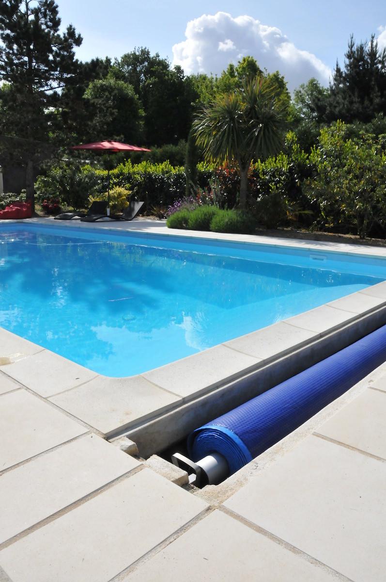 bache piscine enterree