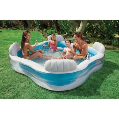 bache piscine familiale intex