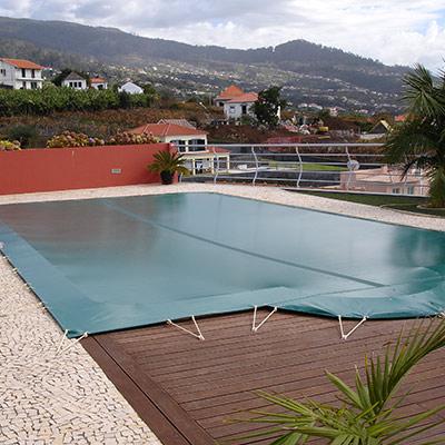 bache piscine filtrante