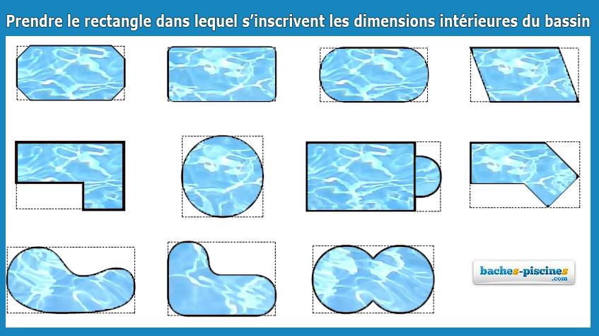 bache piscine forme 8
