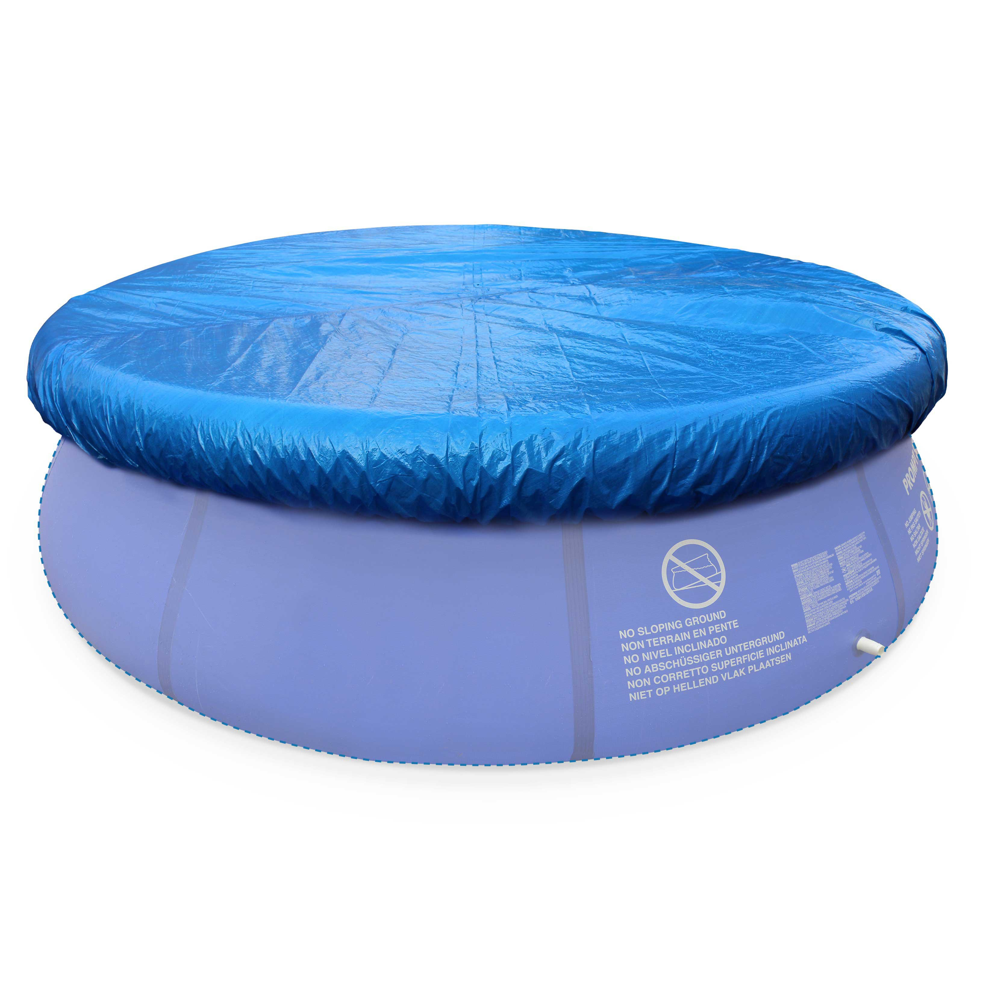 bache piscine gonflable ronde