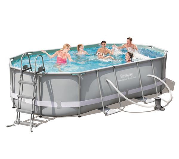 bache piscine ovale bestway