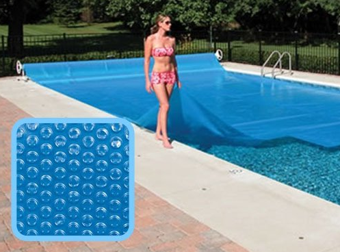 bache piscine pour garder la chaleur