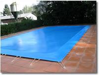 bache piscine pvc