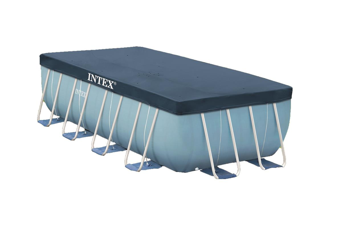 bache piscine rectangulaire intex