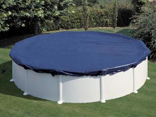 bache piscine ronde 4m60