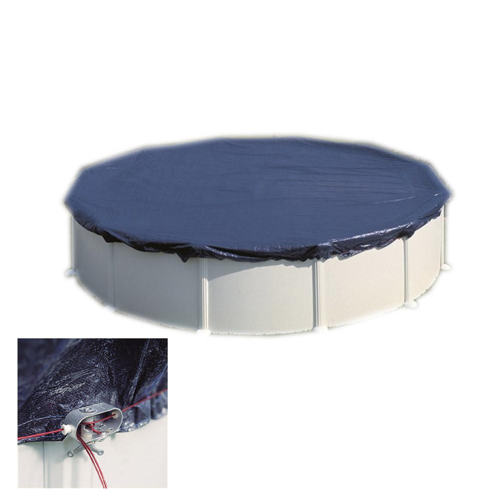 bache piscine ronde 6m