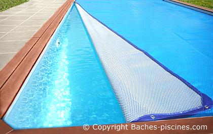 bache piscine sens bulle