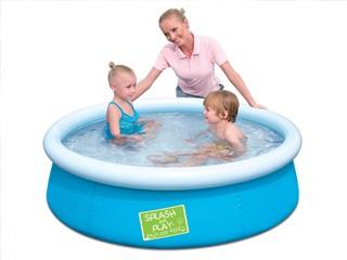 bache piscine splash and play