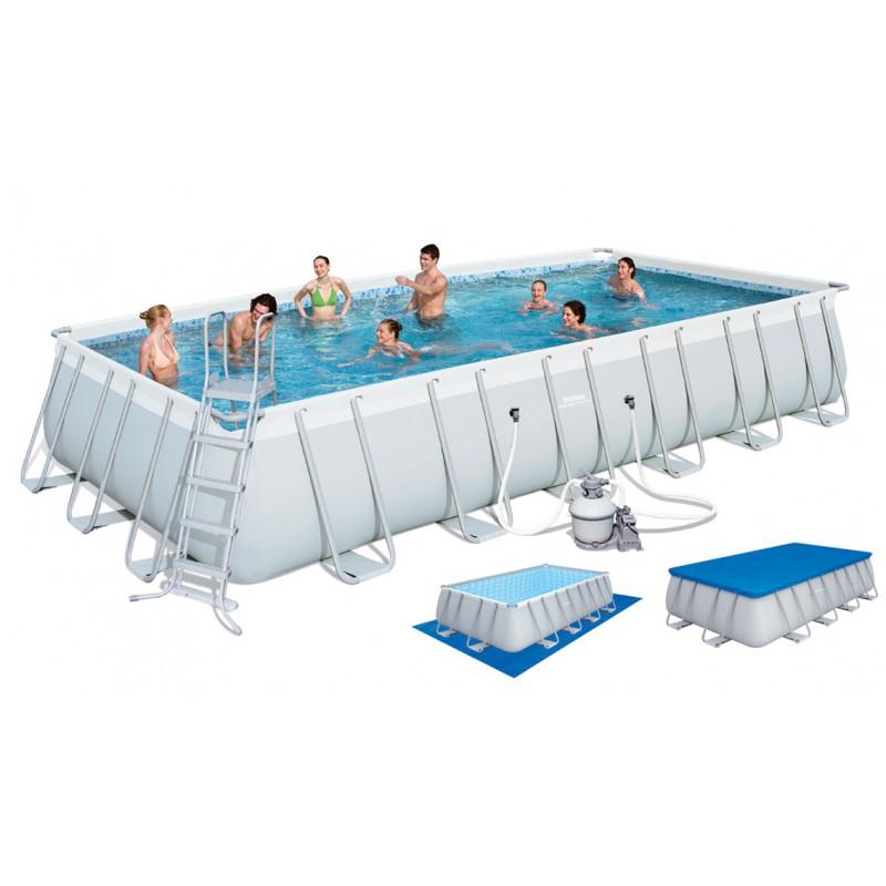 bache piscine tubulaire bestway