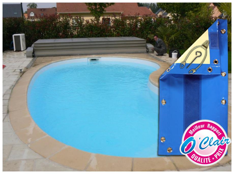 bache piscine universelle