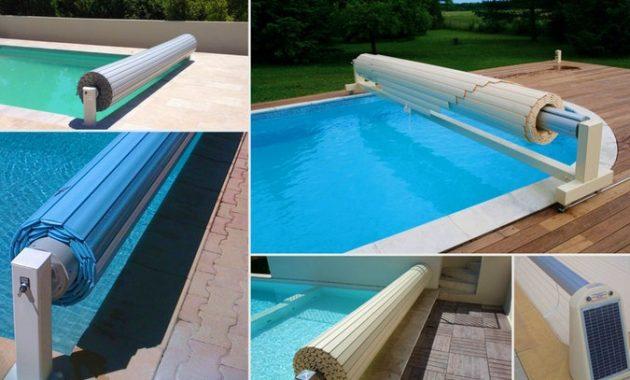 bache piscine volet roulant