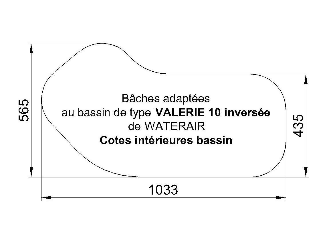 bache piscine waterair valerie 10