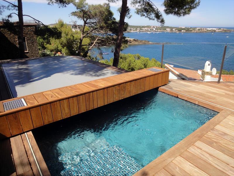 volet piscine coulissant