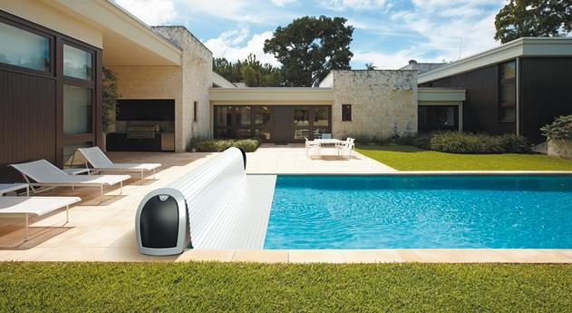 volet piscine design