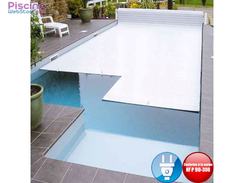 volet piscine electrique hors sol