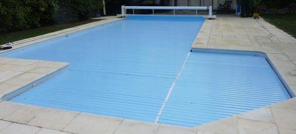 volet piscine en l