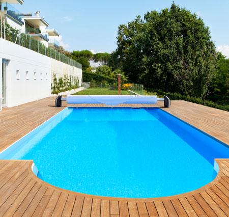 volet piscine en polycarbonate