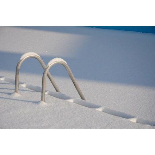 volet piscine et neige