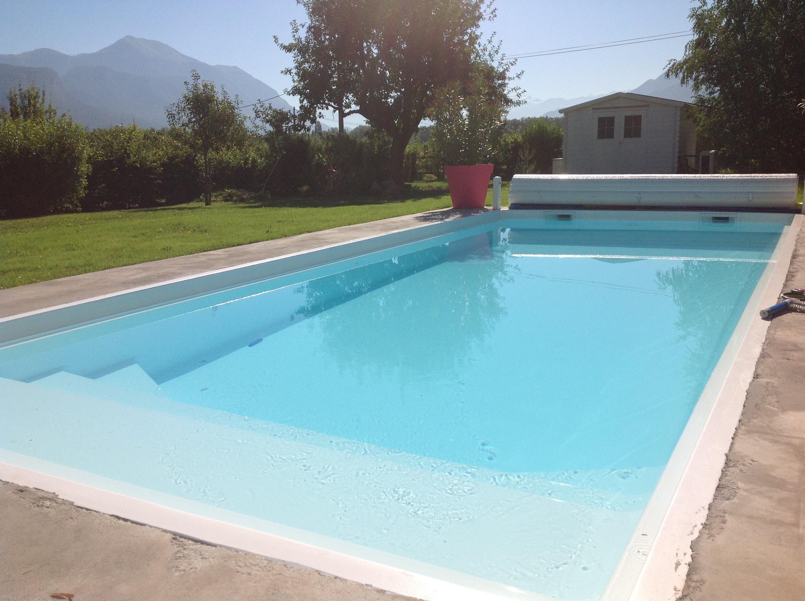 volet piscine gard