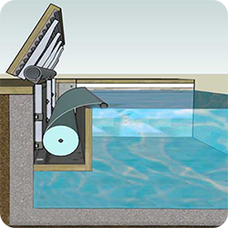 volet piscine immerge manuel