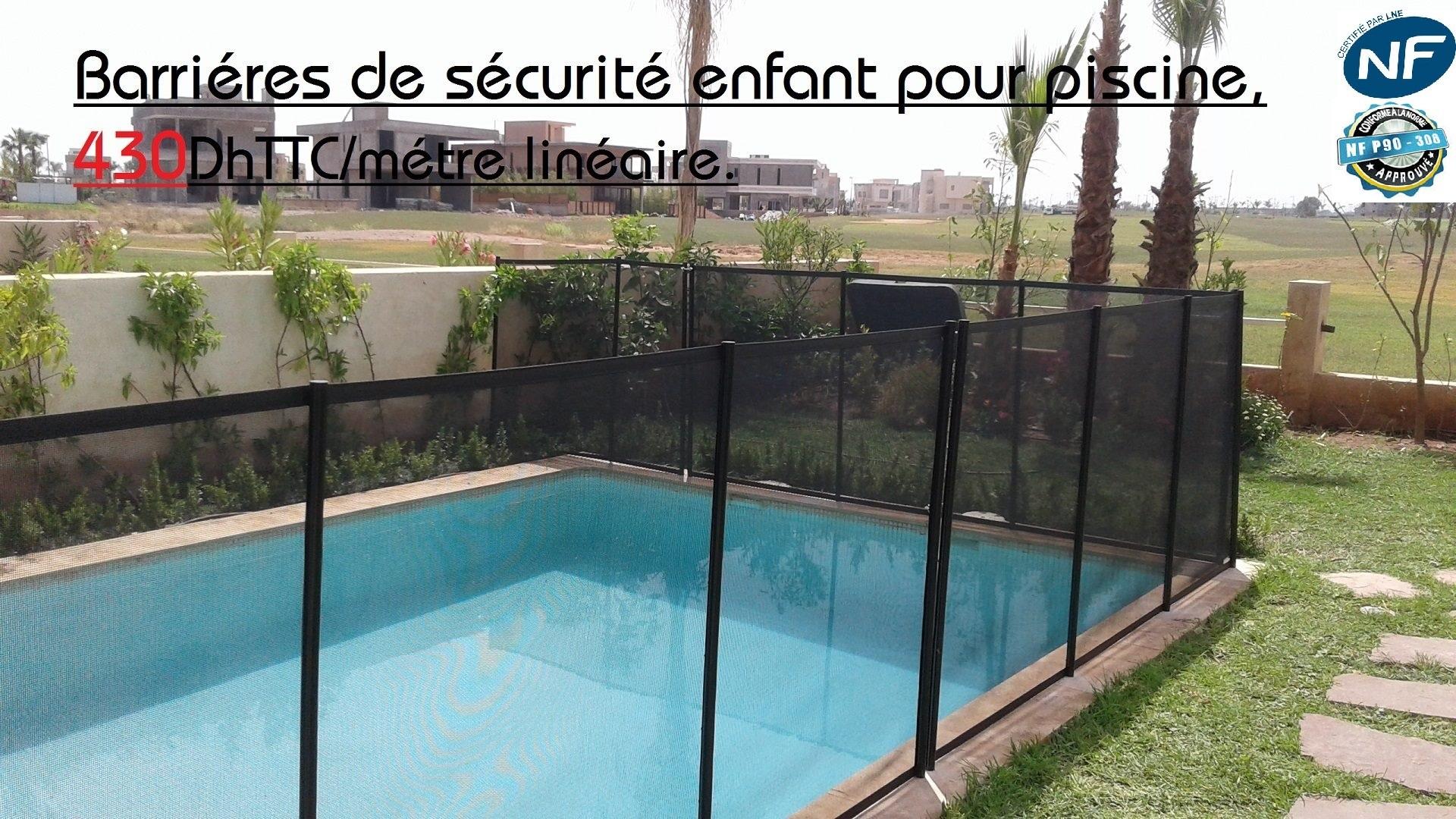 volet piscine maroc