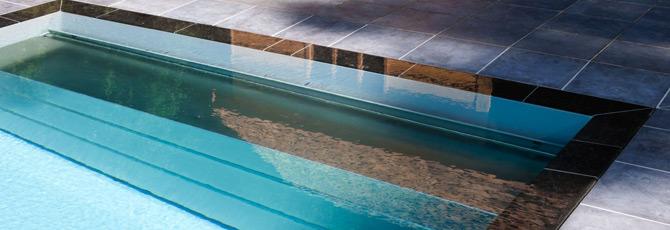 volet piscine miroir