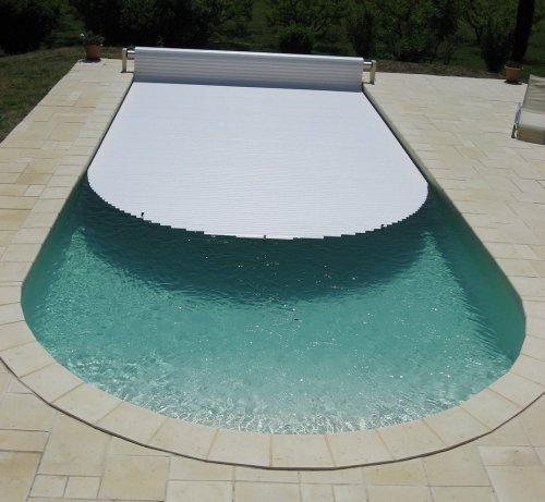 volet piscine ovale