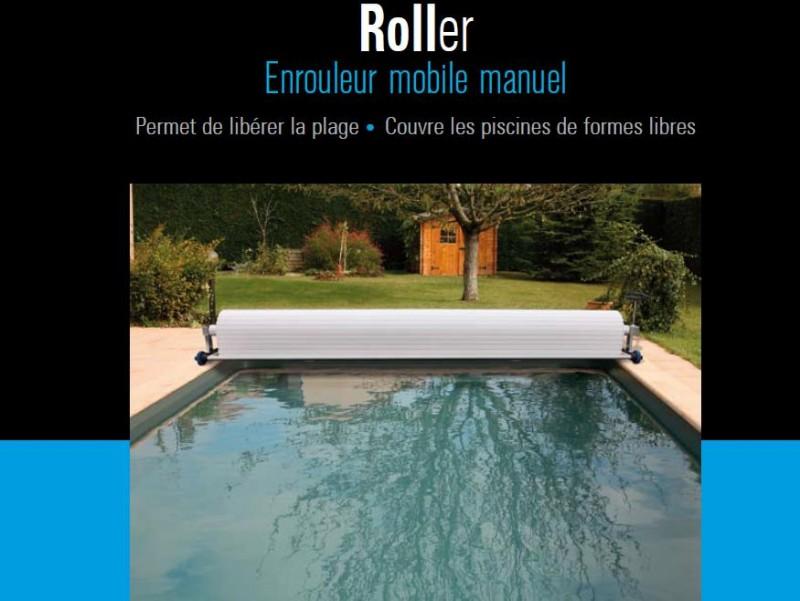 volet piscine roller