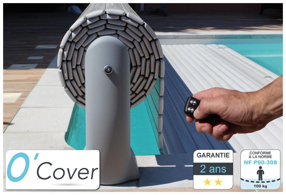 volet piscine telecommande