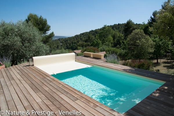 volet piscine terrasse