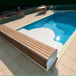 volet piscine wood easy